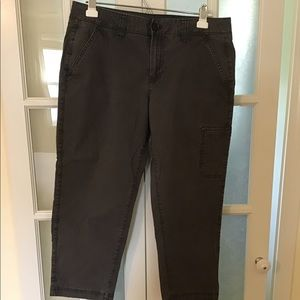 Cropped Eddie Bauer Cargo Pants